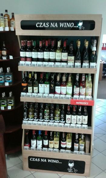 czas na wino stand