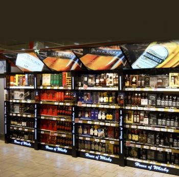 diageo zabudowa działu alkoholowego b