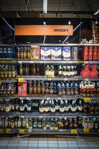 diageo zabudowa na whisky c