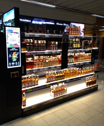 diageo zabudowa działu whiskey
