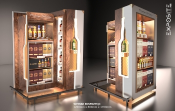 Pernod Ricard stand paletowy Prestige Selection